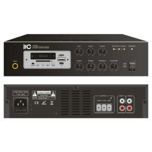 [:ru]Мини микширующий усилитель мощности ITC T-B60[:ro]Mixer audio cu amplificator ITC T-B60[:]