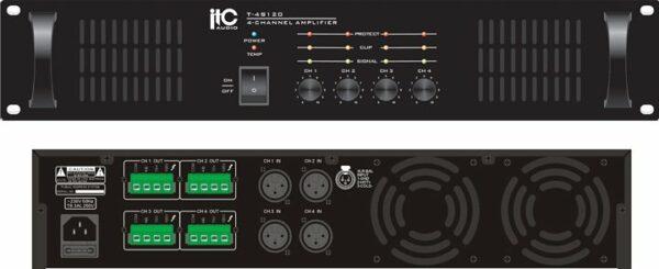 Amplificator ITC Audio T-4S120 cu 4 zone