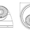 Camera de supraveghere analogică TPDV-9200EG/36 2818