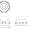 Camera de supraveghere analogică TPDV-9200EW/36 2821