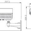 Аналоговая видеокамера TPSV-9200E/42 2825