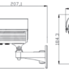 Camera de supraveghere analogică TPSV-9200E/42 2825